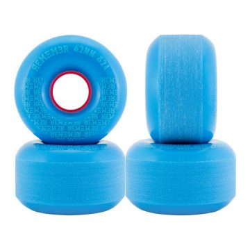 Remember Peewee Wheel 62mm 82a blue