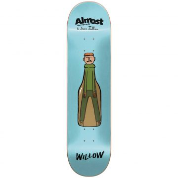 Almost Skateboards Jean Jullien Guest Artist Series Willow 7.75
