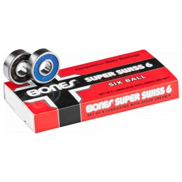 Bones Super Swiss Six Ball Bearings