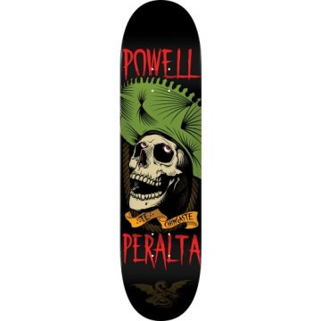 Powell Peralta Te Chingaste Green Popsicle Deck 8.25