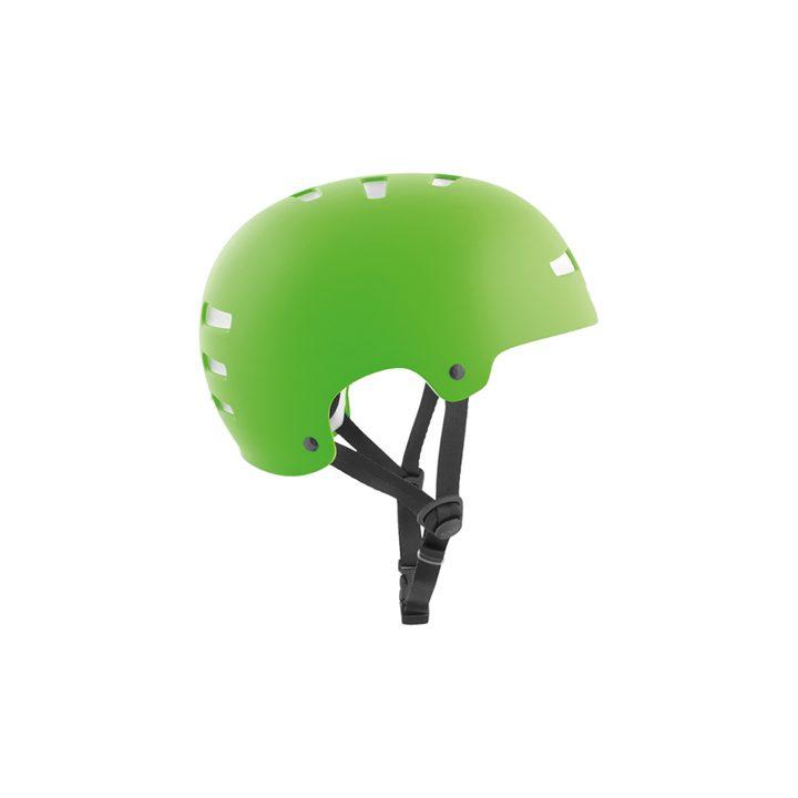 TSG Helmet Evolution Satin Lime Green hjälm
