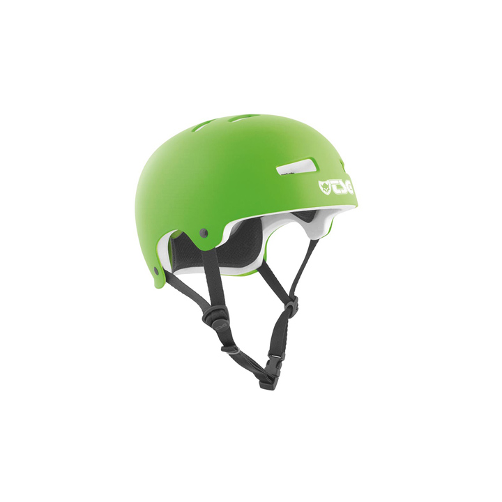 TSG Helmet Evolution Satin Lime Green hjälm