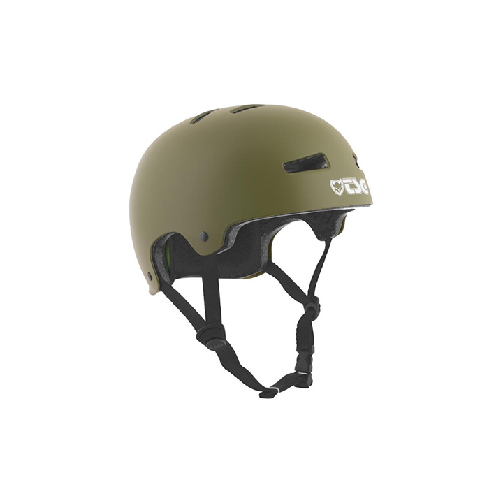 TSG Helmet Evolution Satin Olive Green hjälm
