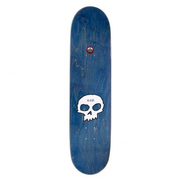 Zero 3-Skull Blood Black Logo Deck 8.125 top