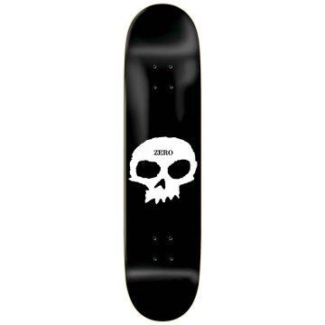 Zero Single Skull Black White