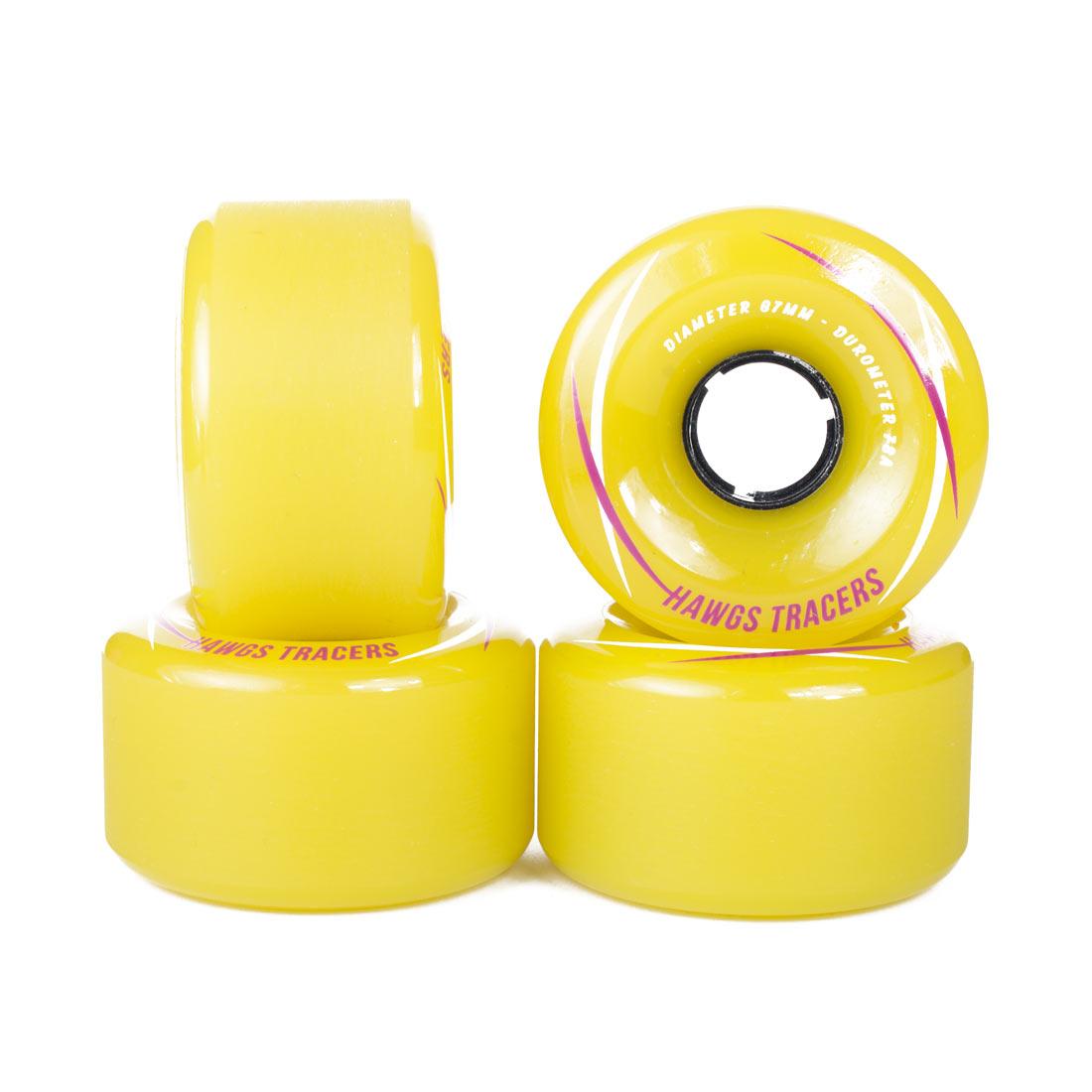 Hawgs Wheels Tracers Yellow