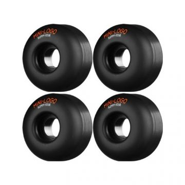 mini logo wheels 52mm black