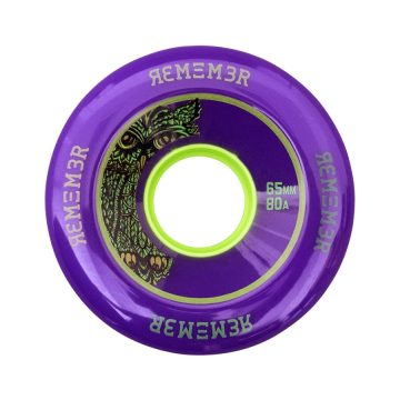 Remember Purple Lil' Hoots 65mm 74a