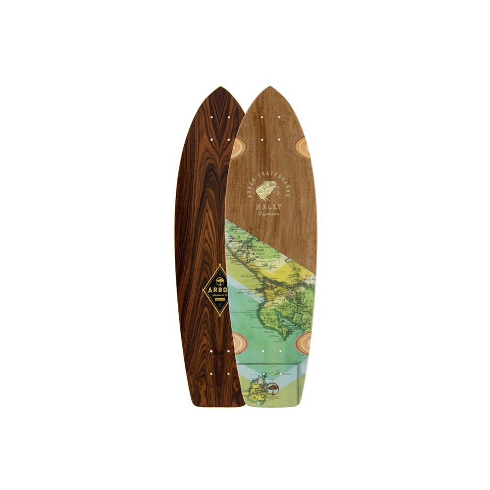 Arbor Rally Groundswell Series deck only