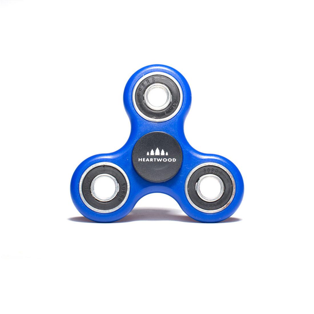 Heartwood Fidget Spinner Standard Blue