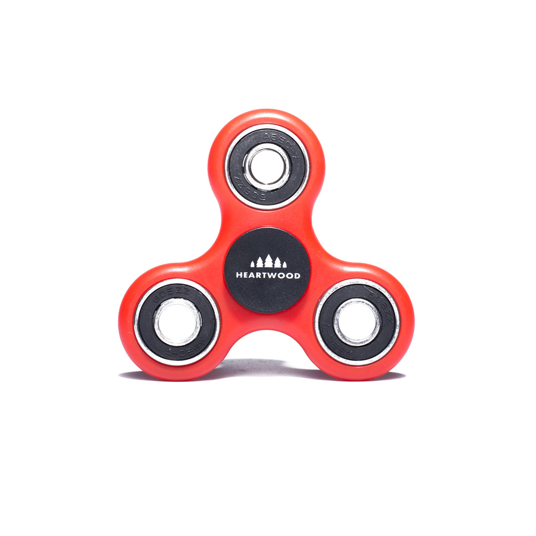 Heartwood Fidget Spinner Standard Red