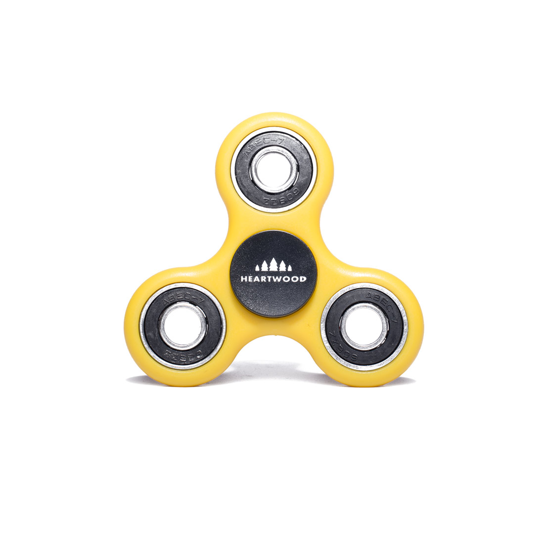 Heartwood Fidget Spinner Standard Yellow