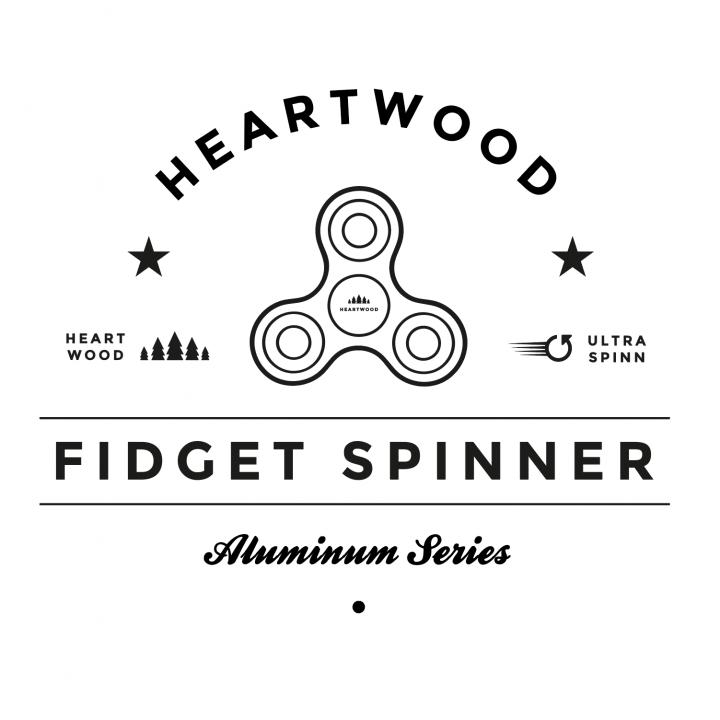 heartwood-fidget spinner aluminum