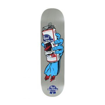 santa cruz PBR hand skateboard