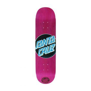 santa cruz classic dot skateboard