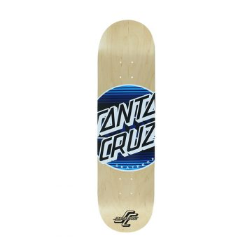 santa cruz serape dot 8,25 skateboard
