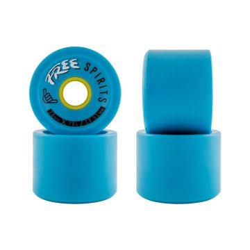 Free Wheels Free Spirits Blue 70mm 78a