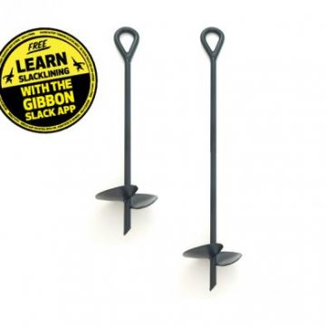 Gibbon Ground Screw 70 Slackline
