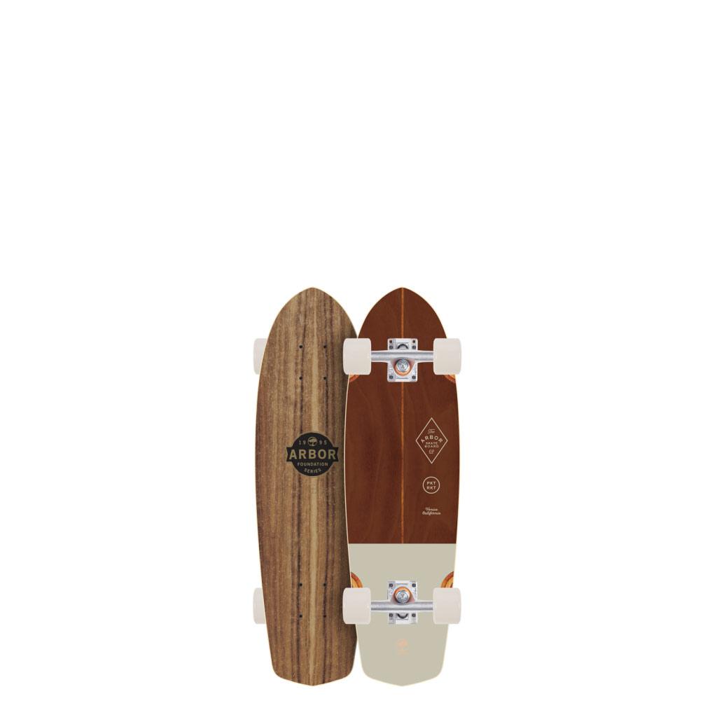 Arbor Skateboards Pocket Rocket Foundation 2017