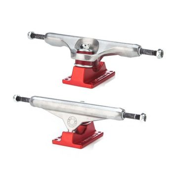 Caliber Standard Street Truck Raw/Satin Red