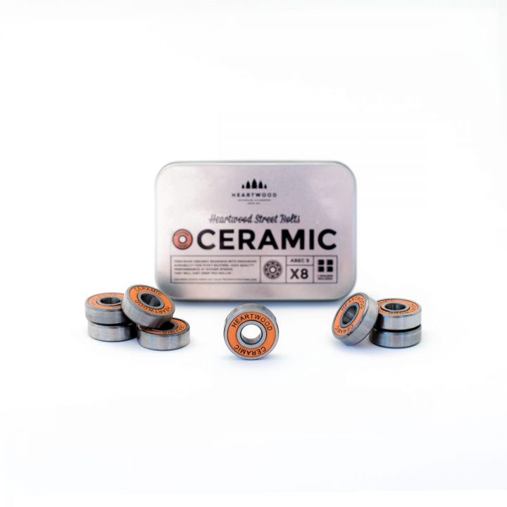 Heartwood Bearings Street Bolts Ceramic kit