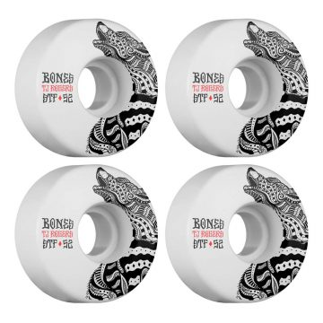 Bones STF 52mm v3 Skateboard wheels white 83b