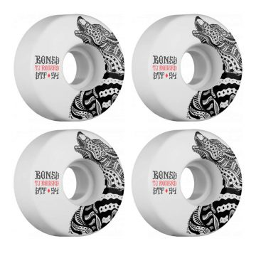 Bones STF 54mm v3 Skateboard wheels white 83b