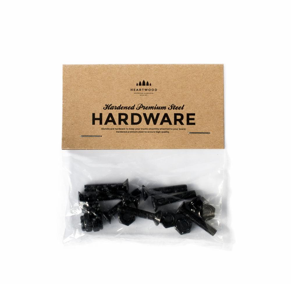 """Heartwood Hardware Skruv 1"""" skateboard och longboard"""