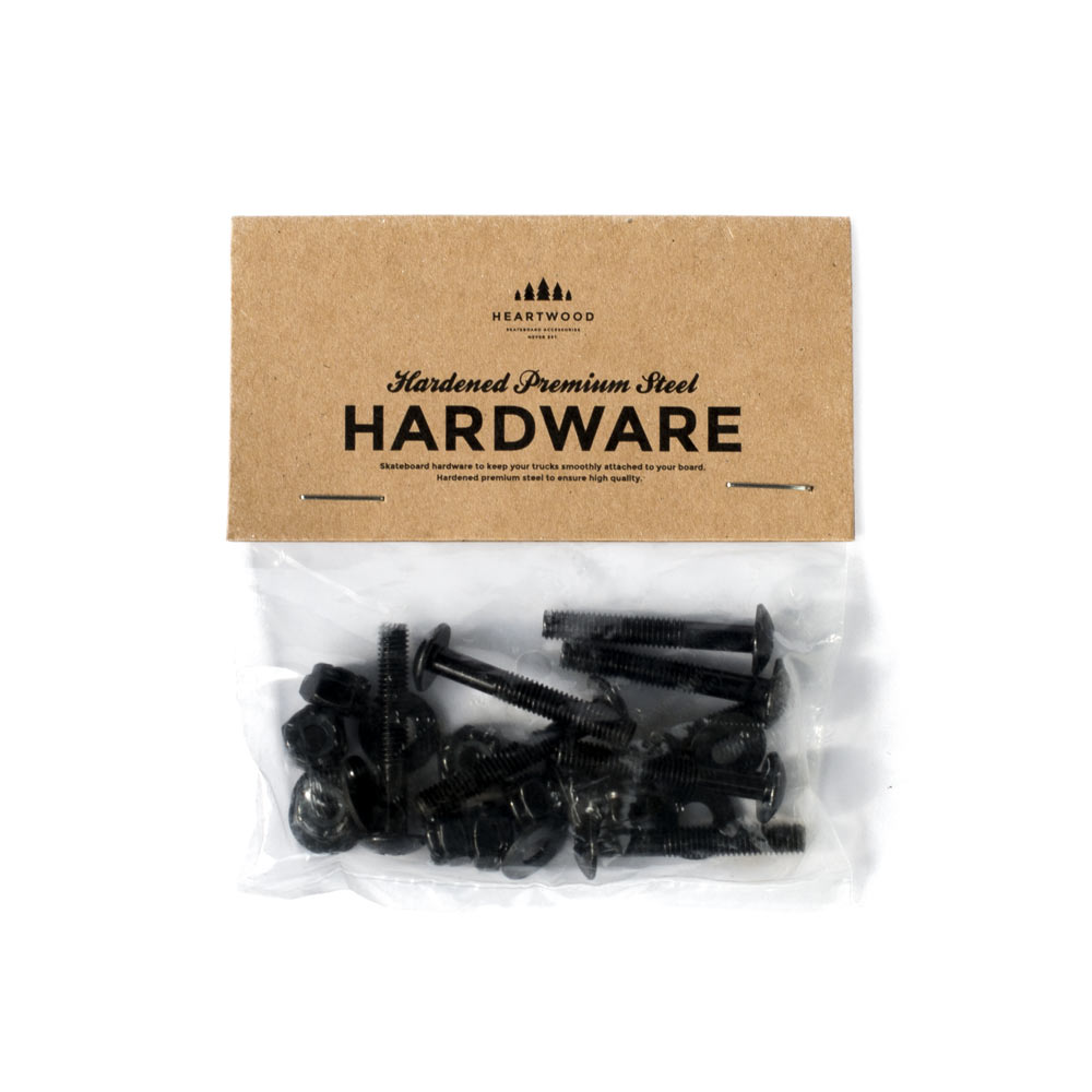 """Heartwood Hardware Skruv 1.25"""" skateboard och longboard"""