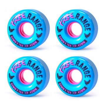 Free Wheels Range Blue 60mm 78a