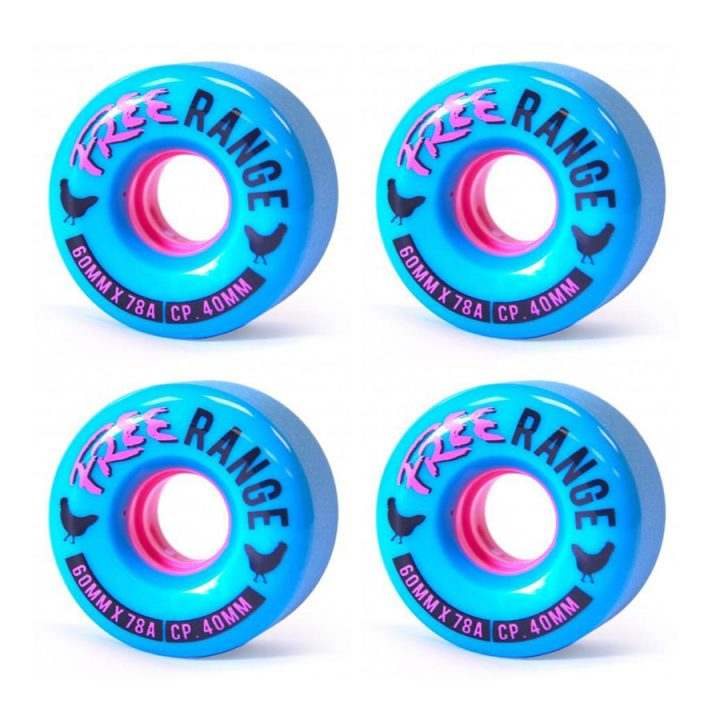 Free Wheels Range Blue 60mm 78a