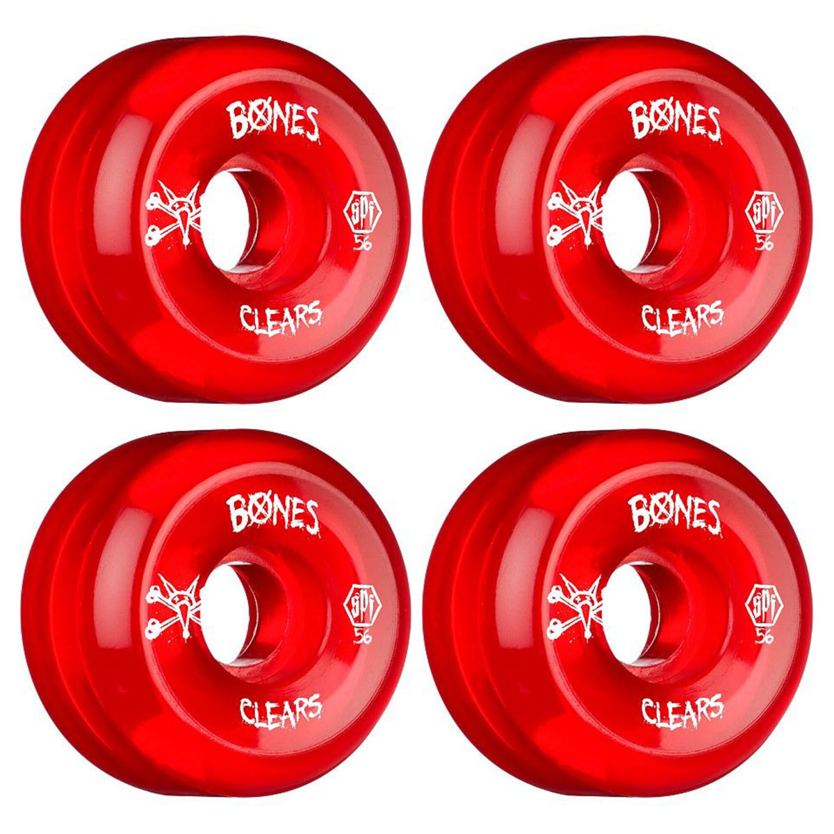 Bones Red Clear SPF 56mm