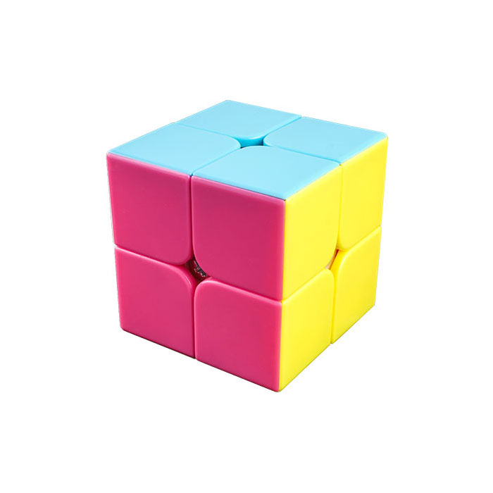 Speedcube Moyu LingPo Pink Stickerless