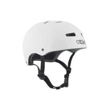 TSG Skate BMX Solid Colors Helmet Injected White