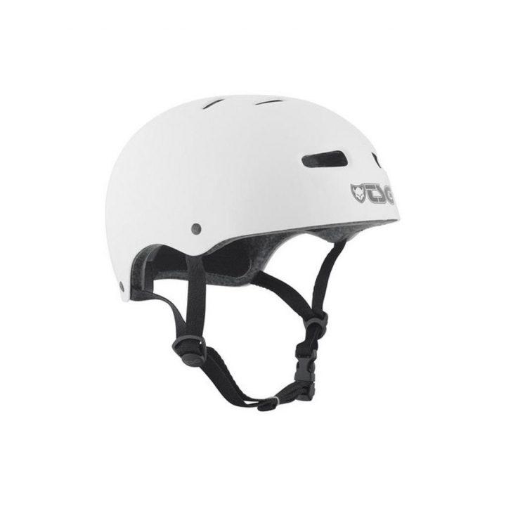 TSG Skate BMX Solid Colors Helmet Injected White