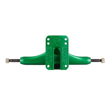 LUXE Longboard trucks Lite Green back