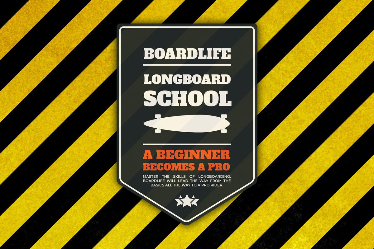 Longboard Schule
