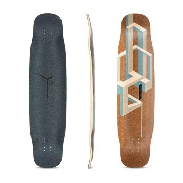 Loaded Tesseract Basalt Nude deck only