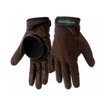 Miller Division Slide Freeride Glove Brown Leather