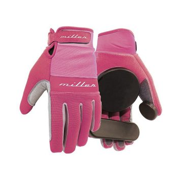 Miller Division Slide Freeride Glove Pink