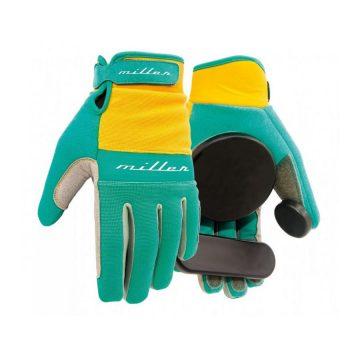 Miller Division Slide Freeride Glove Turquoise