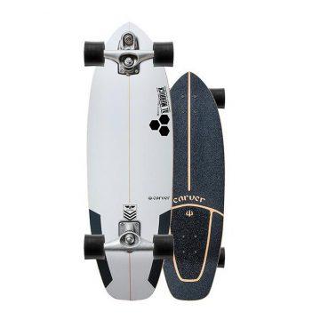 Carver Skateboards Channel Islands Flyer Surfskate C7 Trucks