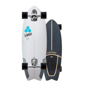 Carver Skateboards Channel Islands Pod Mod Surfskate C7 Trucks