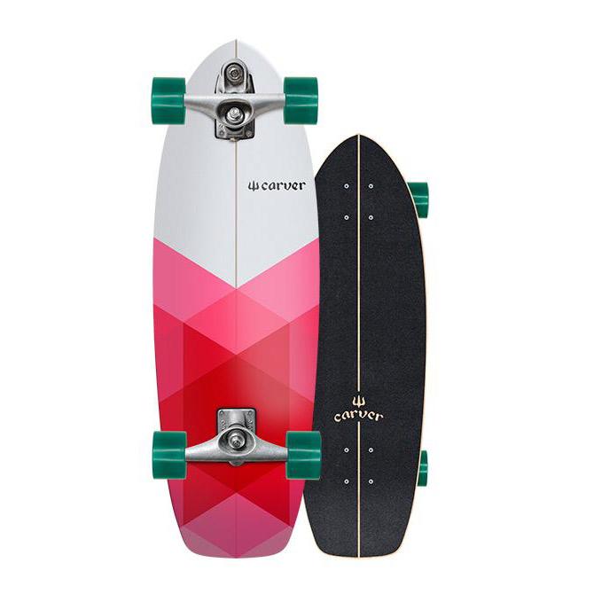 Carver Skateboards Firefly Surfskate C7 Trucks