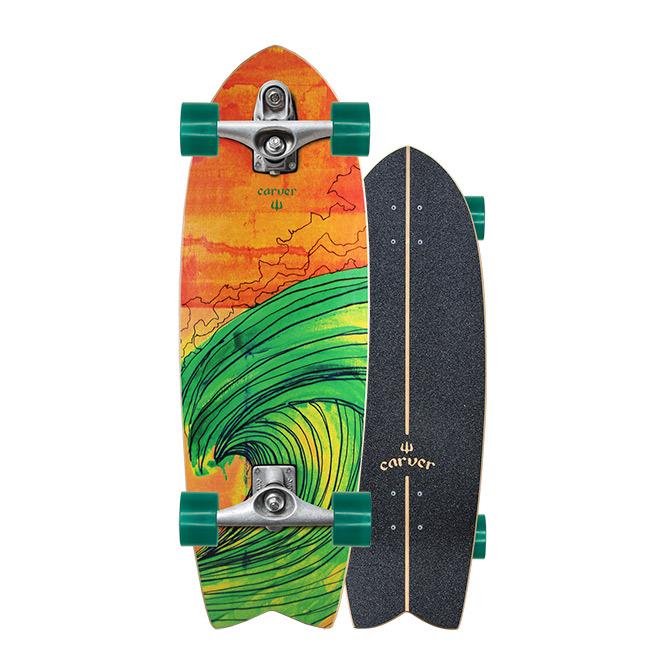 Carver Skateboards Swallow Surfskate C7 Trucks