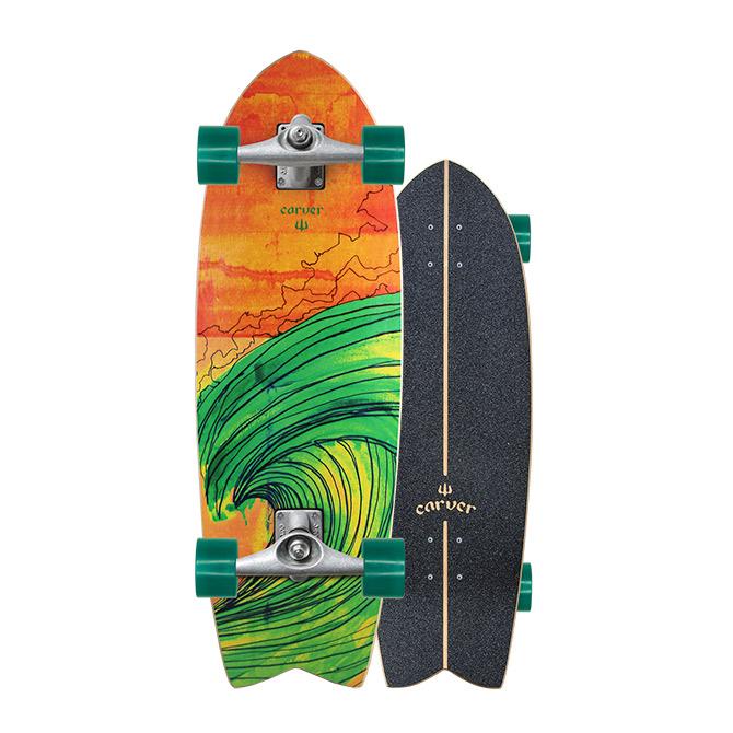 Carver Skateboards Swallow Surfskate CX Trucks