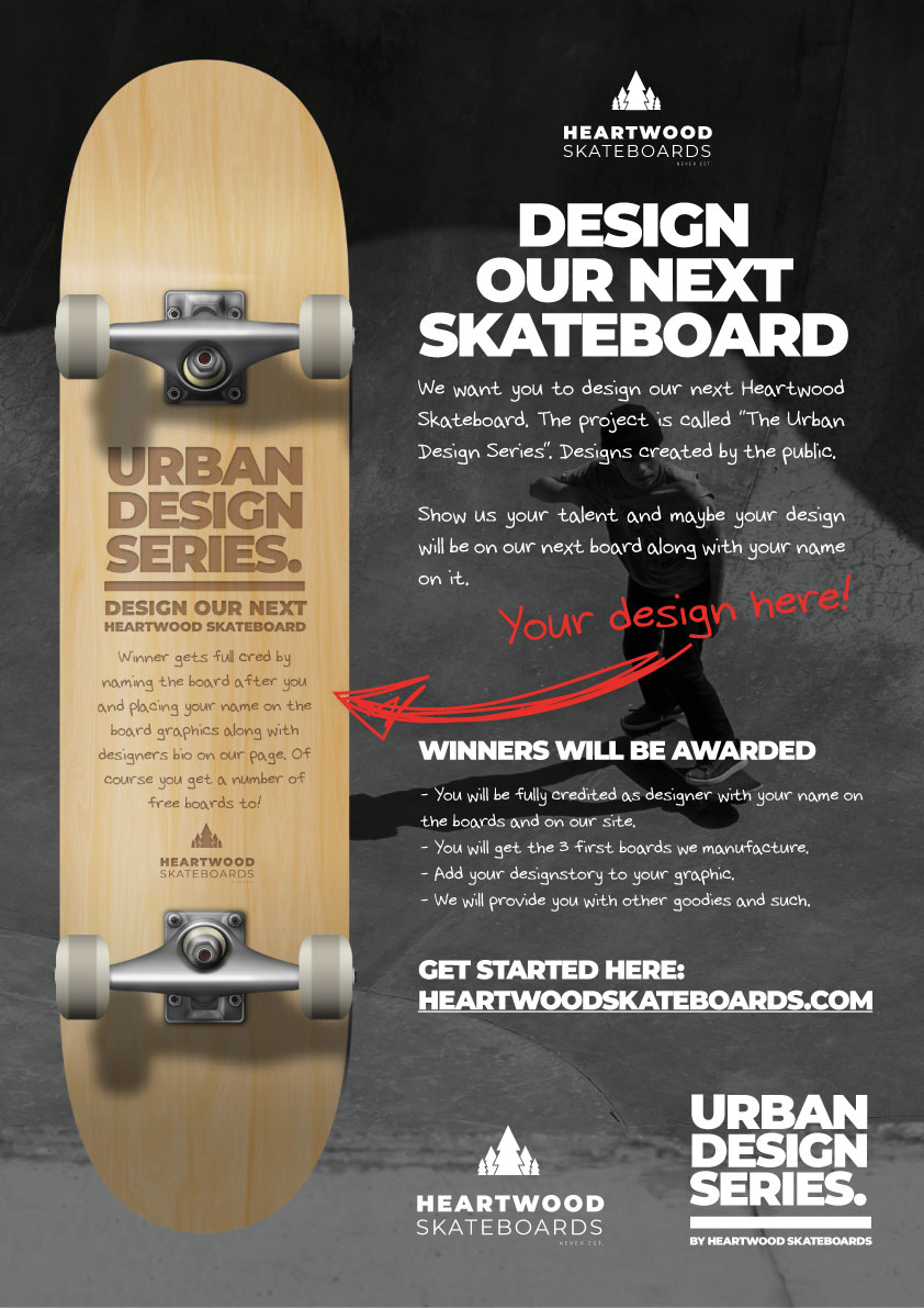 Design av skateboard