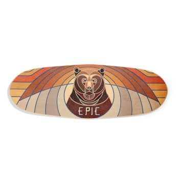 Epic Balance Boards - Nature Series URSA Rocker top