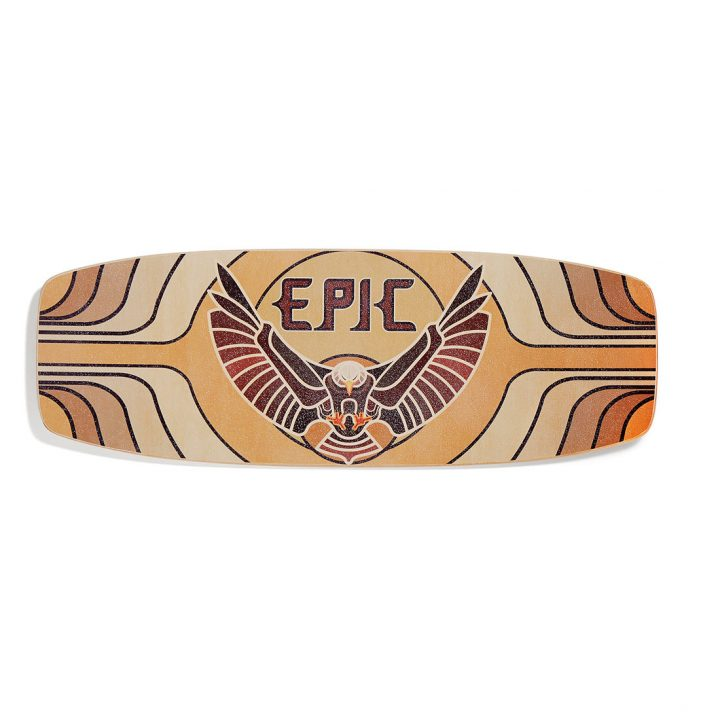 Epic Balance Boards - Nature Series Wings Rocker top
