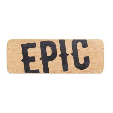 Epic Balance Boards - Wood Series Baltica top